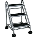 Cosco Rolling Commercial Step Stool 3-Step