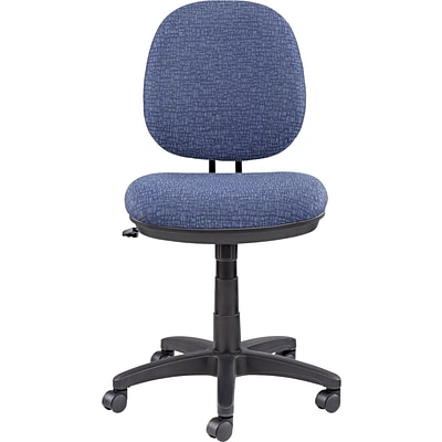 Interval Series Swivel/Tilt Task Chair, 100% Acrylic/Tone-On-Tone Pattern, Blue