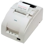TM-U220D-877 Cool White Dot Matrix Printer