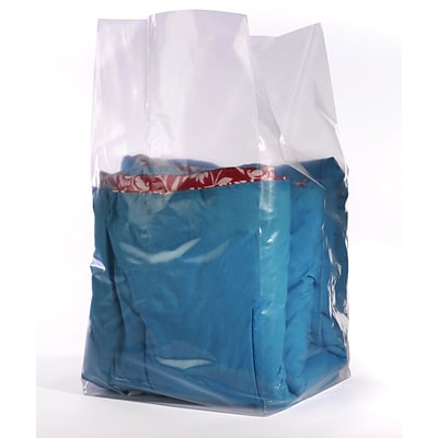 20x16x60 Gusseted Poly Bags 2 mil, Clear, 100/CT (1637)
