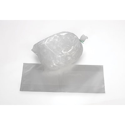 18 x 36 Gusseted Heavy-Duty Ice Bags 3 mil, Clear, 1000/Case (4985)