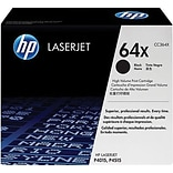 HP 64X Black Toner Cartridge (CC364X); High Yield