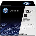 HP 42A Black Toner Cartridge (Q5942A)