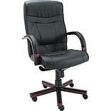 Alera® High Back Leather Swivel/Tilt Chair