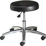 HON 22 Adjustable Medical Exam Swivel Task Stool, Black (HMTS01EA11) NEXT2017 NEXT2Day