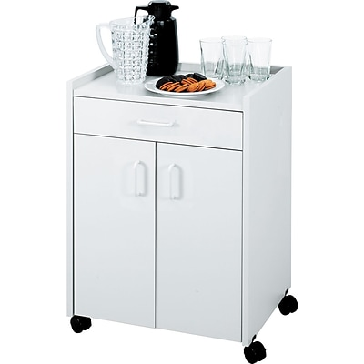 Safco® Beverage Carts Wood Laminate; Gray