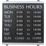 14x13 Business Hours Sign