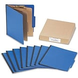 Presstex ColorLife Classification Folder, 1/2 Capacity, 6-Section, 3 Expansion, Holds 8 1/2 x 11
