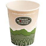 Green Mountain Coffee Roasters® Eco-Friendly Paper Hot Cup, 12 oz., 50/Pack