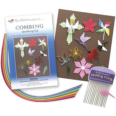 Quilled Creations Quilling Kit, Combing