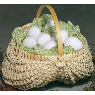 Commonwealth Basket Blue Ridge Basket Kit, Egg Basket