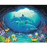 Dimensions Paint By Number Kit, 20 x 16, Deep Sea Paradise