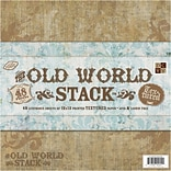 Diecuts With A View Old World Paper Stack 12 x 12-48 Sheets