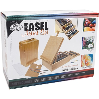 Royal Brush Easel Artist Set-All Media, 192 Pieces