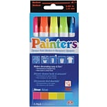 Elmers Painters Opaque Paint Markers Medium Point, Neon Colors, 5/Pack