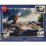 Dimensions Paint By Number Kit, 20 x 14, Eagle Hunter