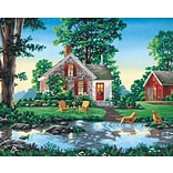 Dimensions Paint By Number Kit, 20 x 16, Summer Cottage
