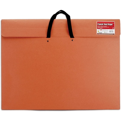 Star Products Red Rope Paper Portfolio, 20 x 26 x 2