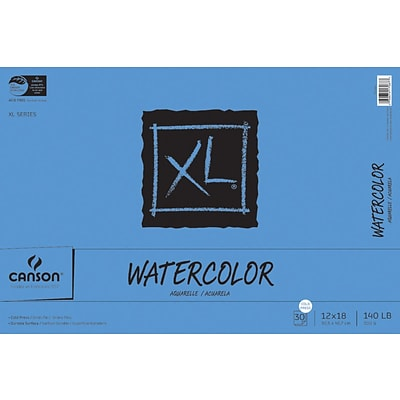 Canson® XL 12x18 Watercolor Paper Pad