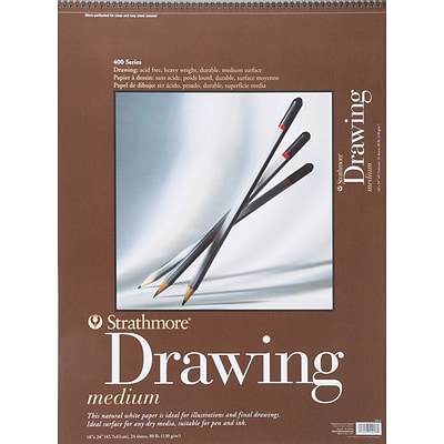 Strathmore® 18x24 Drawing Medium Paper Pad