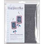 JHB Lisa Pavelka Stamp Set, 2/pkg, Cultural-Ancient Doodles & Ethnic Border