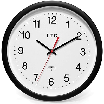 Infinity Instruments Business Wall Clock, Round, 14