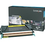Lexmark™ Yellow Toner Cartridge; C734A2YG