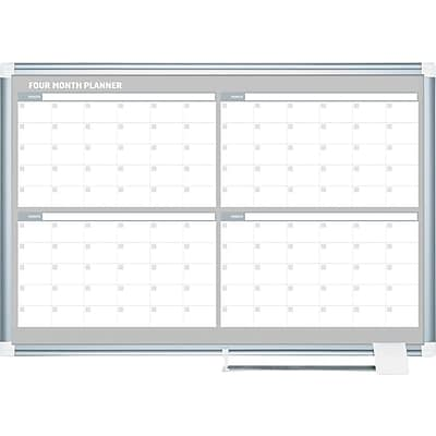 MasterVision 4-Month Planners, 48x36