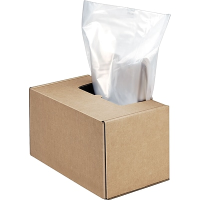 Fellowes® Waste Bags for Fortishred™ and High-Security Shredders, 50/Box