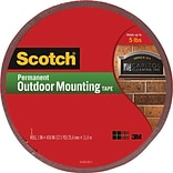 Scotch® Permanent Outdoor Mounting Tape, 1 x 450