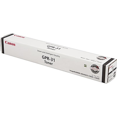 Canon GPR 31 Black Toner Cartridge, Standard (2790B003AA)