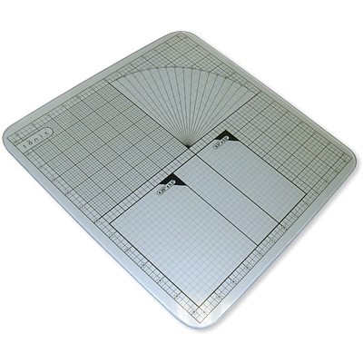 Tonic Studios Tempered Glass Cutting Mat, 12 x 12 Measuring Grid
