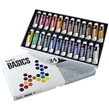 Reeves®  Liquitex Basics Acrylic Paint, 7ml/Tube 24/Pkg, Assorted Colors