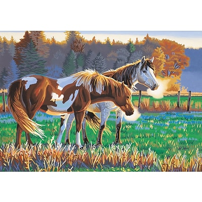 Dimensions Paint By Number Kit, 20 x 14, Pasture Buddies