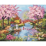 Dimensions Paint By Number Kit, 20 x 16, Japanese Garden