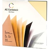 American Crafts® Cardstock Pack, 12 x 12, Neutrals