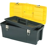 Stanley-Bostitch Series 2000 Toolbox with Tray, Two Lid Compartments (019151M)