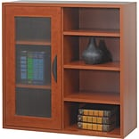 Safco® Apres Laminated Wood Collection in Cherry Finish; 29-3/4W Single-Door Cabinet