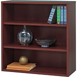 Safco® Après? Laminated Compressed Wood Open Bookcase; 29 3/4H x 29 3/4W; Mahogany