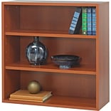 Safco® Après? Laminated Compressed Wood Open Bookcase; 29 3/4H x 29 3/4W; Cherry