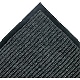 Crown Needle-Rib? Polypropylene Wiper/Scraper Mat, 120L x 36W, Gray