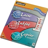 Apollo® Multipurpose Transparency Film; Clear; 8 1/2(W) x 11(H); 50/Box