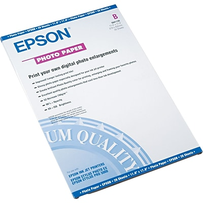 Epson Glossy Photo Paper, 11