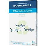 Hammermill  Great White Recycled Copy Paper, 11(W) x 17(L),Ream