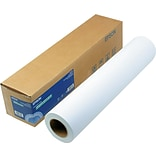 Epson Matte Paper for Wide Format Ink Jet Printers, Enhanced, 24 x 100, 1 Roll