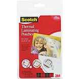 Scotch Lamination Thermal Pouches, Photo (TP5900-20)