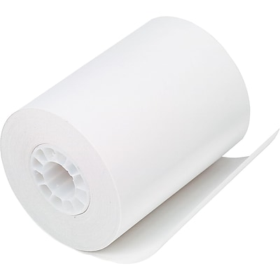PM Company® Direct Thermal Printing Cash Register/POS Paper Roll, 2 1/4(W) x 80(L), 50/Ctn