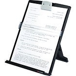 3M™ Desktop Document Holder, Black, 12(H) x 9-3/8(W) x 2(D), 150 Sheet Capacity
