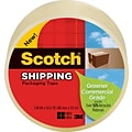 Scotch® Greener Commercial-Grade Shipping Tape; 1.88 x 49.2 Yards