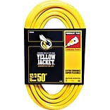 Woods® Yellow Jacket® Power Cord, Yellow, 100